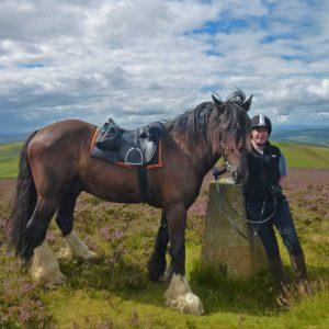 Horse riding holidays radnor rhonda trail