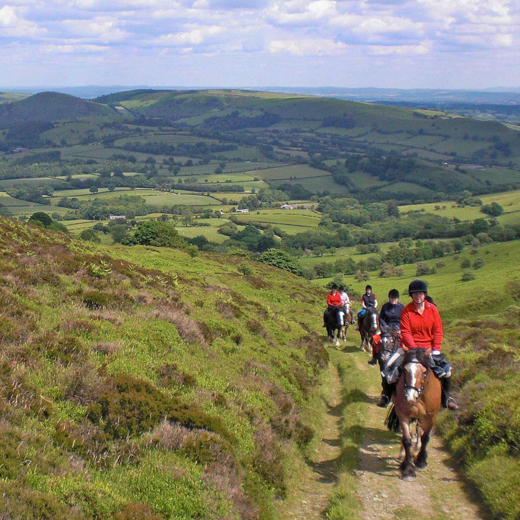 trail riding bettws trail