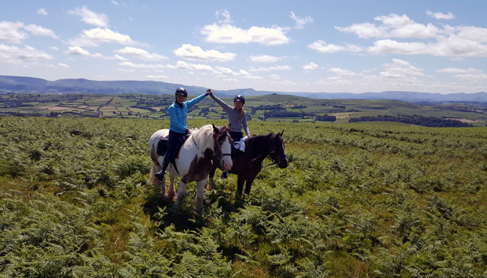 Why not join a two day Guided Explorer Trail with Freerein Riding Holidays